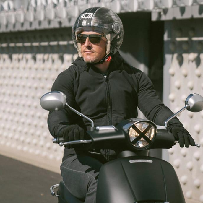 casque scooter jet