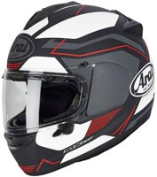 casque arai chaser x sensation red matt 2020