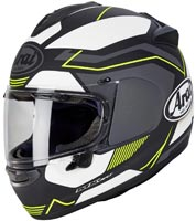 casque arai chaser x sensation yellow 2020