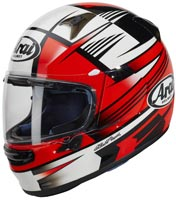 casque arai 2020 profile v rock red integral-moto rouge blanc homologue