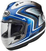 casque arai rx7 v sword blue 2020