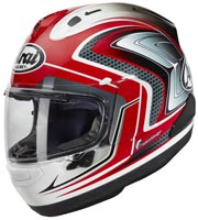 casque arai rx7 v sword red 2020
