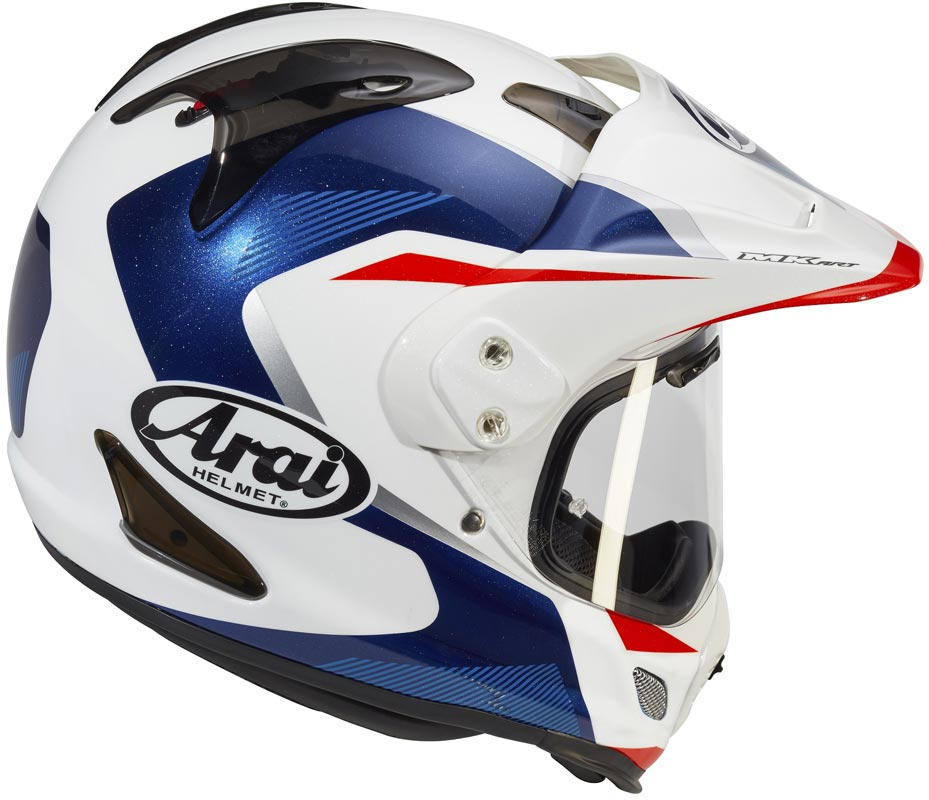 casque arai tour x4 break blue 2020 adventure