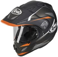 casque arai tour x 4 break orange 2020
