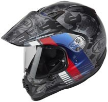 casque arai tour x 4 cover blue 2020