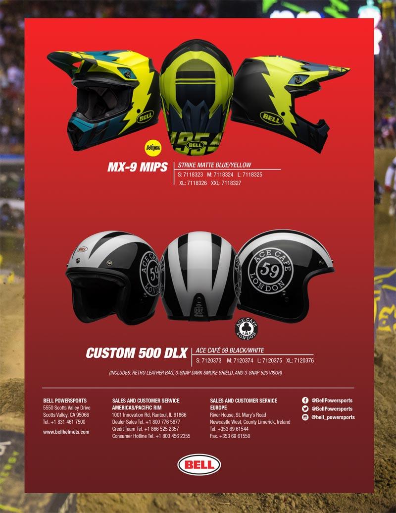 nouveaux casques moto bell 2020 seasonnal 1 edition limitee
