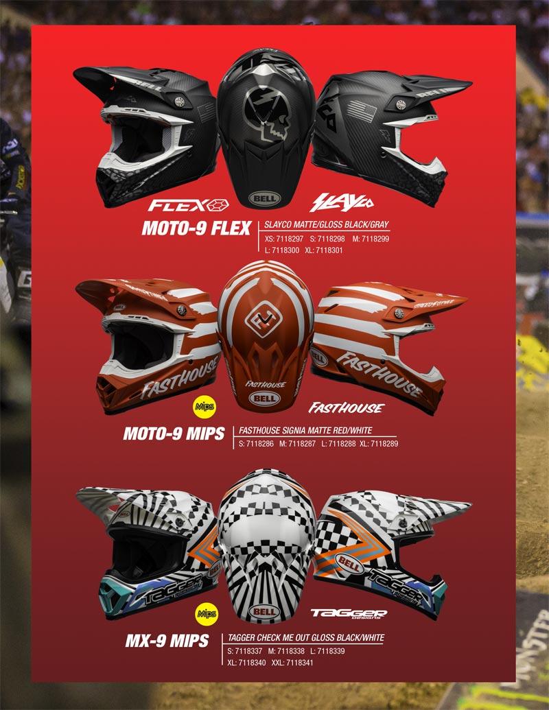nouveaux casques cross bell moto 9 2020 seasonnal edition limitee