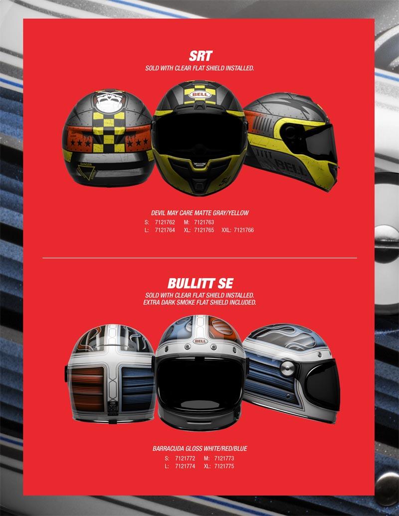 nouveaux casques moto bell  2020 seasonnal 2 edition limitee