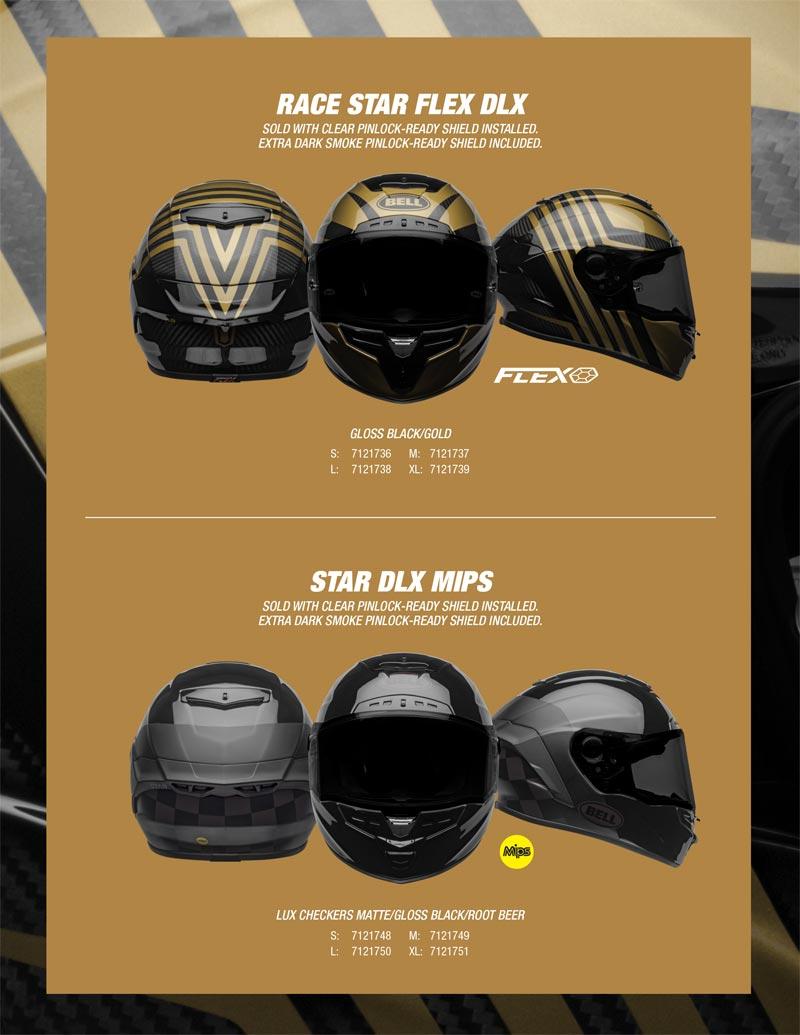 nouveaux casques moto bell star 2020 seasonnal 2 edition limitee