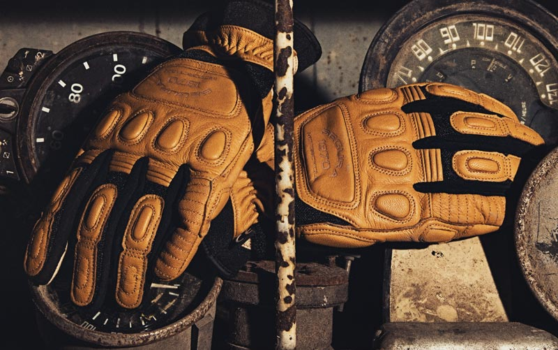 gants segura jango beige noir 2020