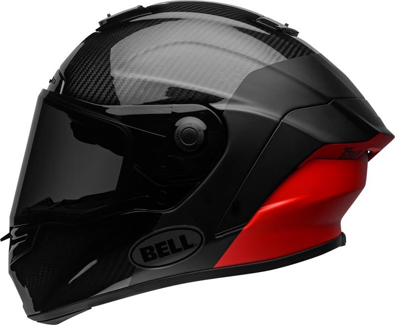bell race star flex dlx carbon lux matte gloss black red 2021